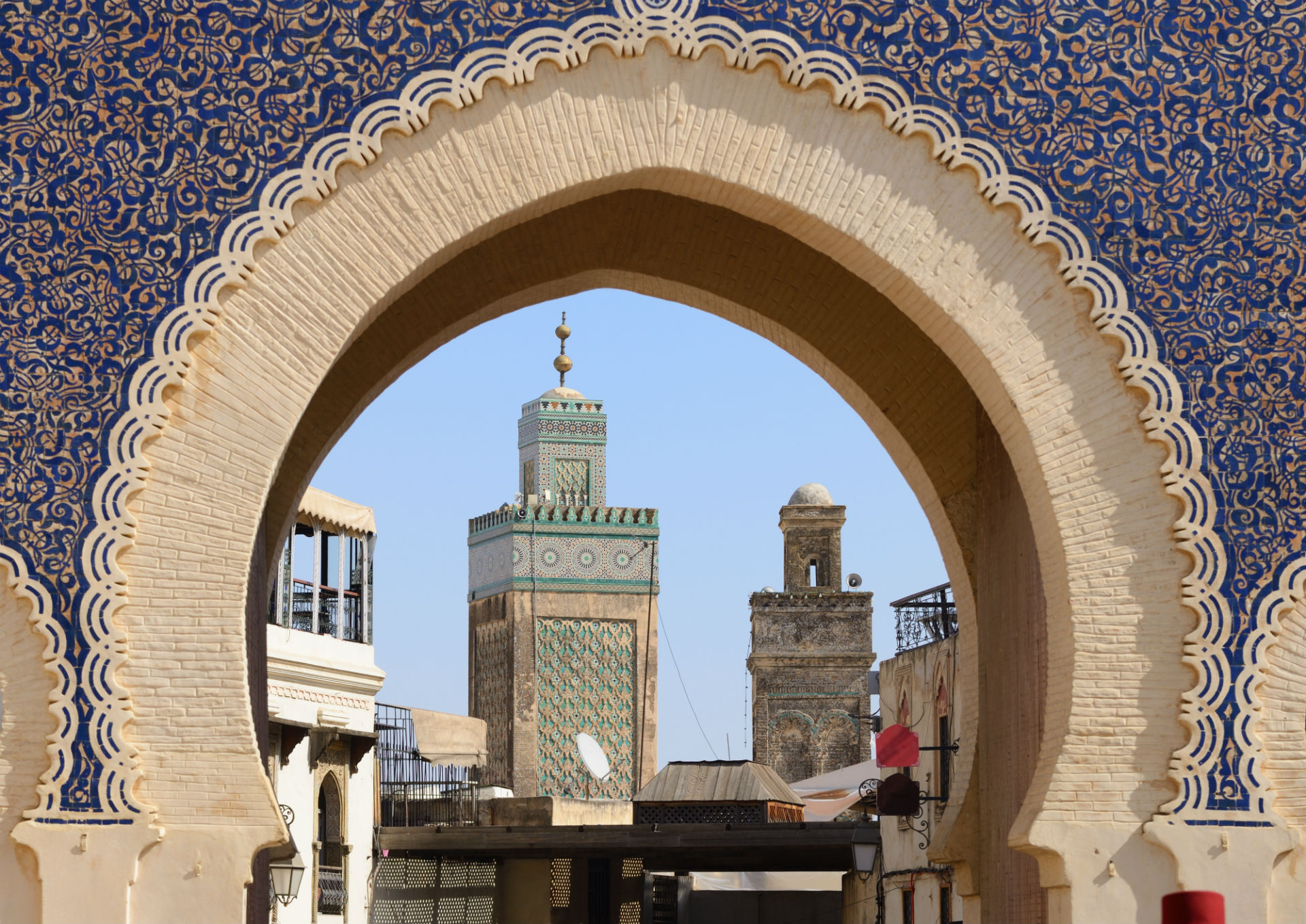 the four imperial cities of Morocco