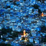 why is chefchaouen blue